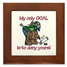My Only Goal Framed Tile