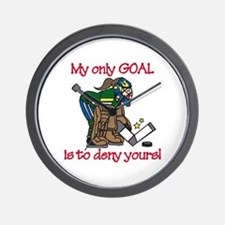 My Only Goal Wall Clock