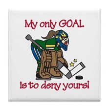 My Only Goal Tile Coaster