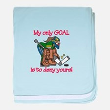My Only Goal baby blanket