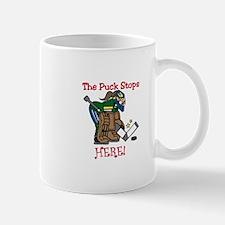 Puck Stops Here Mugs