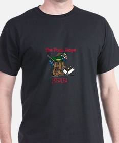 Puck Stops Here T-Shirt