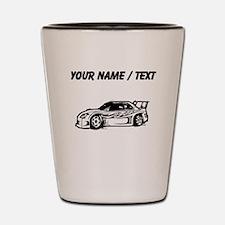 Custom Race Car Shot Glass