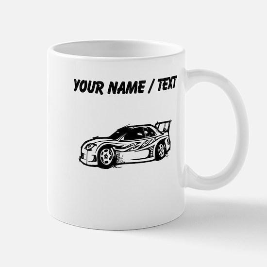 Custom Race Car Mugs