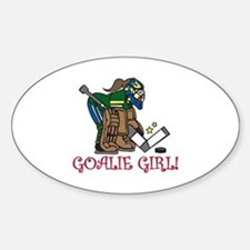 Goalie Girl Decal