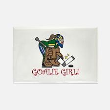 Goalie Girl Magnets