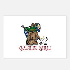 Goalie Girl Postcards (Package of 8)
