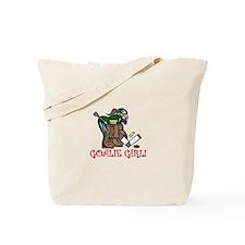 Goalie Girl Tote Bag