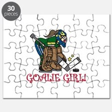 Goalie Girl Puzzle