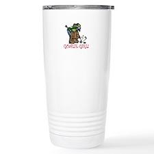 Goalie Girl Travel Mug