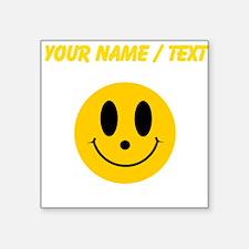 Custom Smiley Face Sticker