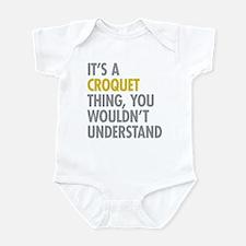 Its A Croquet Thing Infant Bodysuit