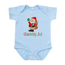 Glaedelig Jul Santa Child Body Suit