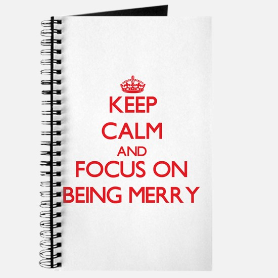 Cute Keep merry....and carry on Journal