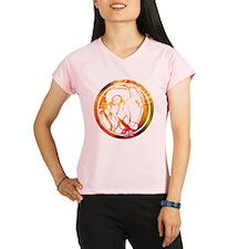 Iron Man Circle Performance Dry T-Shirt