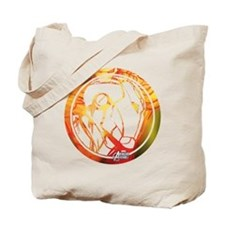 Iron Man Circle Tote Bag
