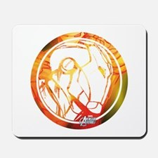 Iron Man Circle Mousepad