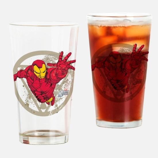 Iron Man Repulsor Drinking Glass