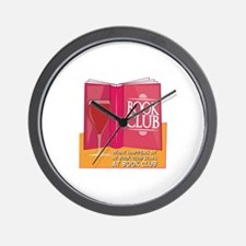 What Happens At Book Club Wall Clock