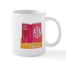 What Happens At Book Club Mugs