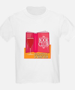 What Happens At Book Club T-Shirt