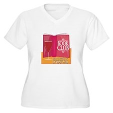 What Happens At Book Club Plus Size T-Shirt