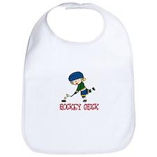 Hockey Chick Bib