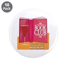 """Our Book Club 3.5"""" Button (10 pack)"""