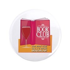 "Our Book Club 3.5"" Button"
