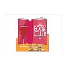 Our Book Club Postcards (Package of 8)