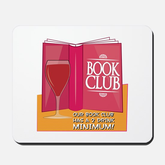 Our Book Club Mousepad