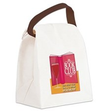 Our Book Club Canvas Lunch Bag