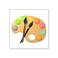 Paint Easel Sticker