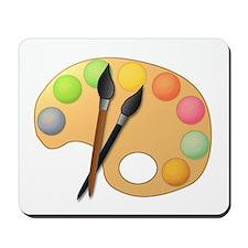 Paint Easel Mousepad