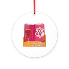 Wine Pairs Best Ornament (Round)