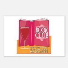Wine Pairs Best Postcards (Package of 8)