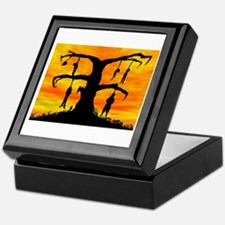 Hanging tree Keepsake Box