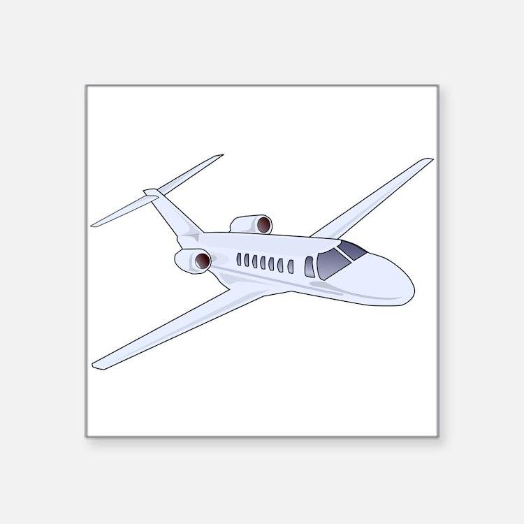 Private Jet Sticker