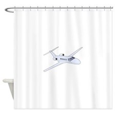 Private Jet Shower Curtain