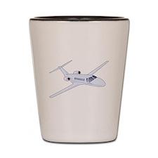 Private Jet Shot Glass