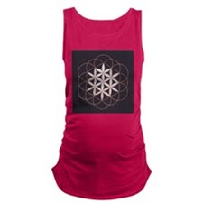 Flower of Life Maternity Tank Top