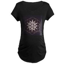 Flower of Life Maternity T-Shirt