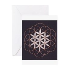 Flower of Life Greeting Cards