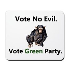 Vote No Evil/ Vote GP Mousepad