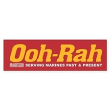 Marines Ooh-Rah Bumper Bumper Sticker