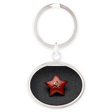 Red star Keychains