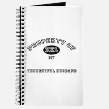 Property of my THOUGHTFUL HUSBAND Journal