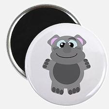Goofkins Cute Little Rhino Magnet