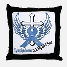 Lymphedema - On A Wing And A Prayer Throw Pillow