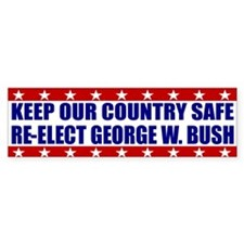 Pro George W. Bush Bumper Bumper Sticker
